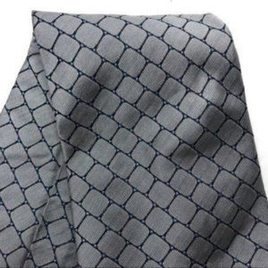 "Tommy Hilfiger (60"") Silk Tie Gray Squares"